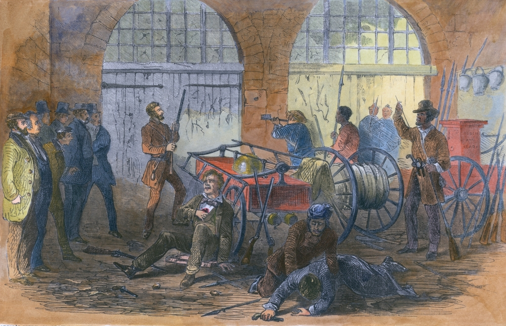 john browns raid In the winter of 1857-58, john brown, who had been a leader in and a promoter of lawlessness during the troubles in kansas--undertaken, as he himself confessed, for the purpose of inflaming the public.