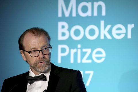George Saunders at the Man Book Prize awards ceremony