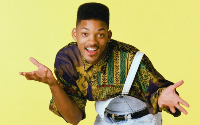 A picture of Will Smith as the title character in The Fresh Prince of Bel-Air