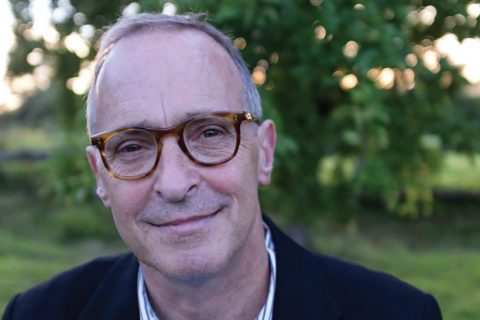 A portrait of author David Sedaris