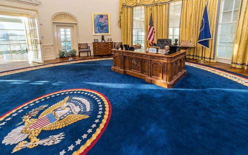 A picture of the Oval Office
