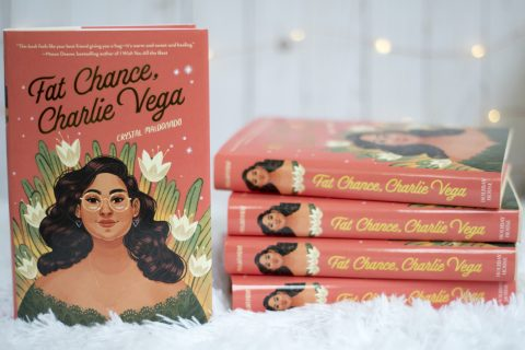 """Cover of the book """"Fat Chance, Charlie Vega."""""""