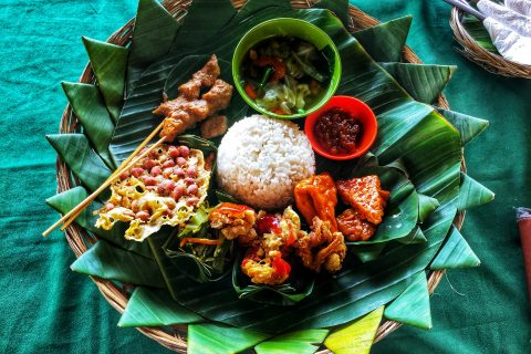 Photo of Bali food.