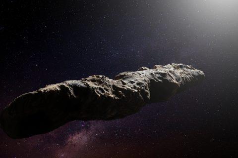 Oumuamua comet.