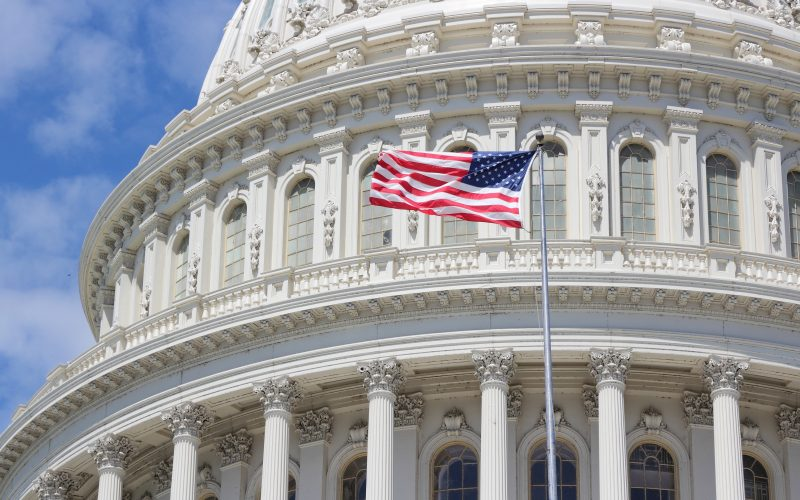 Photo of US National Capitol in Washington, DC