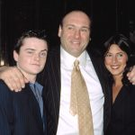 cast of The Sopranos at the show's premiere